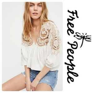 Free People Dolman blouse- NEW WITH TAGS size XS